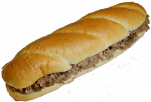 12 Inch Philly Cheese Steak Sub