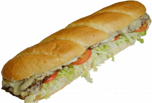 12 Inch Steak Sub