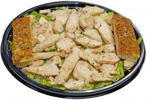 Chicken Caesar Salad with Breadsticks 2