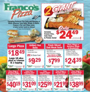 Franco's Website Coupons